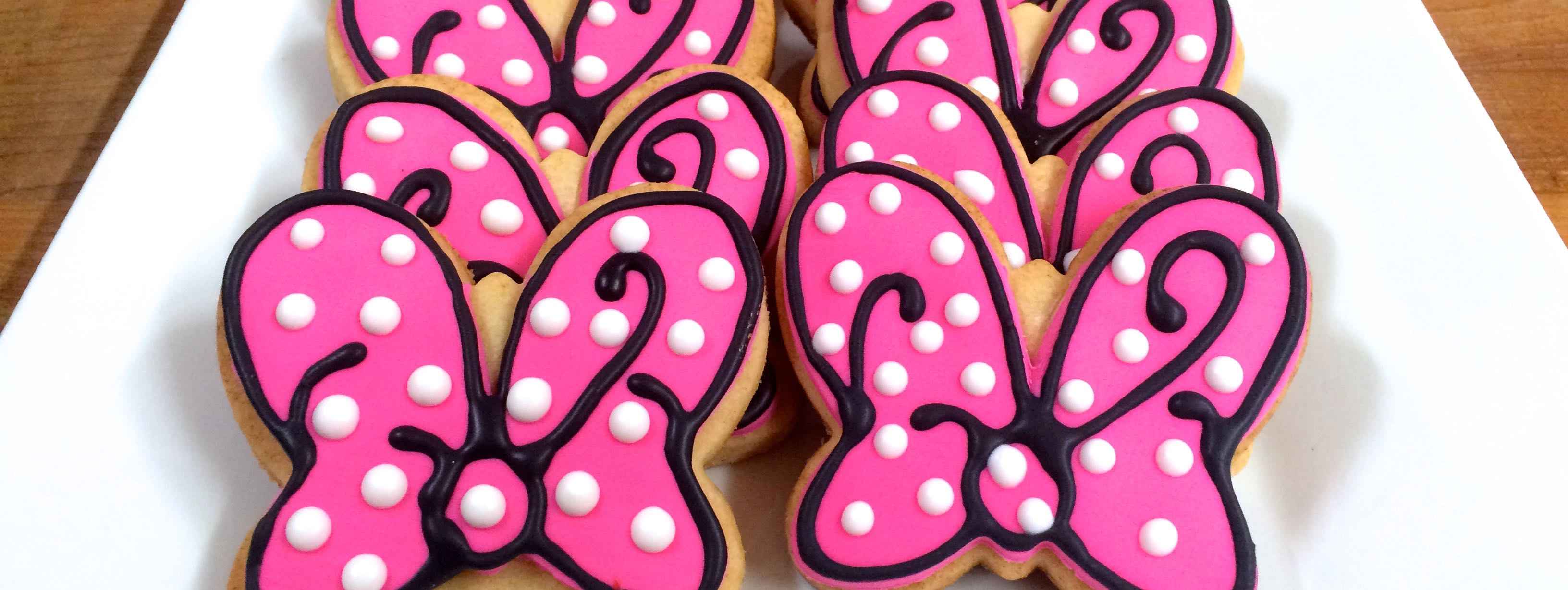 Minnie Mouse Theme Specialized Cookies