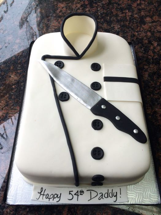 Birthday Cake For A Pastry Chef