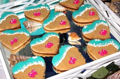Beach Shortbread Cookies
