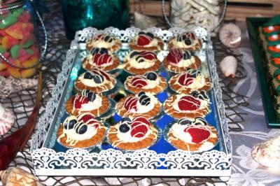 Chantilly Berry Tartlets