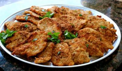 Chicken Cutlet Platter